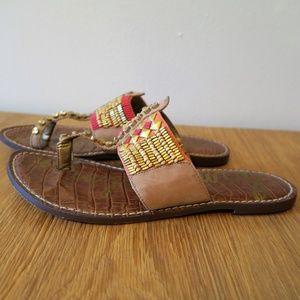 0fd712d45fad Sam Edelman Shoes -  Sam Edelman  Gideon Beaded Sandals 7.5 M